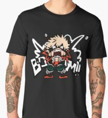 My Hero Academia: Katsuki Bakugo - BOOOM!! Men's Premium T-Shirt