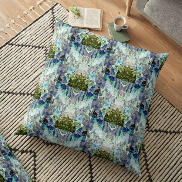 Above Floor Pillow