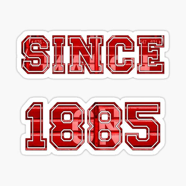 Southampton FC 1885 Saints Football Sticker