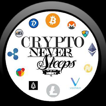 Crypto Never Sleeps by danbrobro