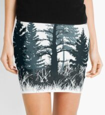 Enter the Woods 2 - Forest, Nature, Wild, Outdoors, Mini Skirt