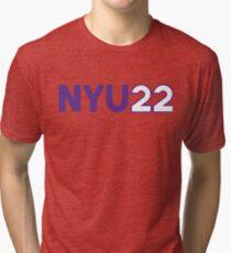 Camiseta de tejido mixto NYU 2022