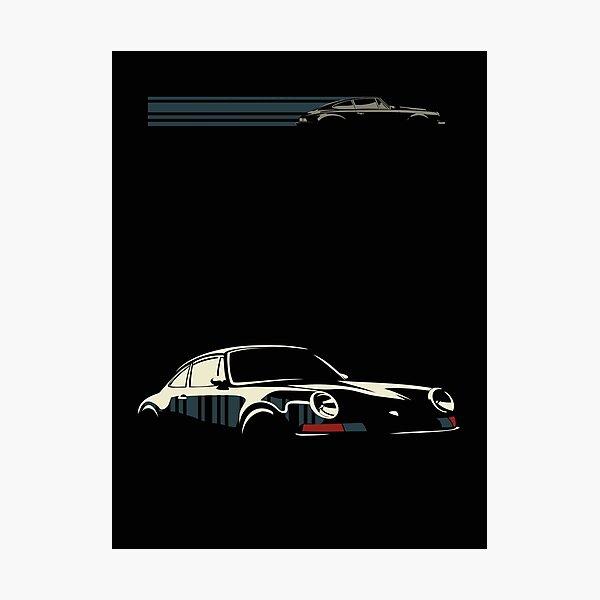Minimalist Porsche Photographic Print
