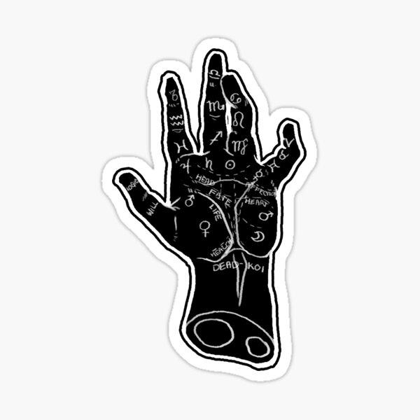 Palmistry 1.5 Sticker