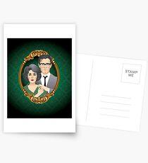 George und Martha Postkarten