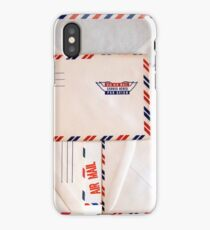 Vintage Air Mail iPhone Case