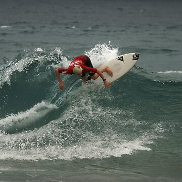 Junior Surfing Titles, NSW - Werrie Beach #6 by NoelElliot