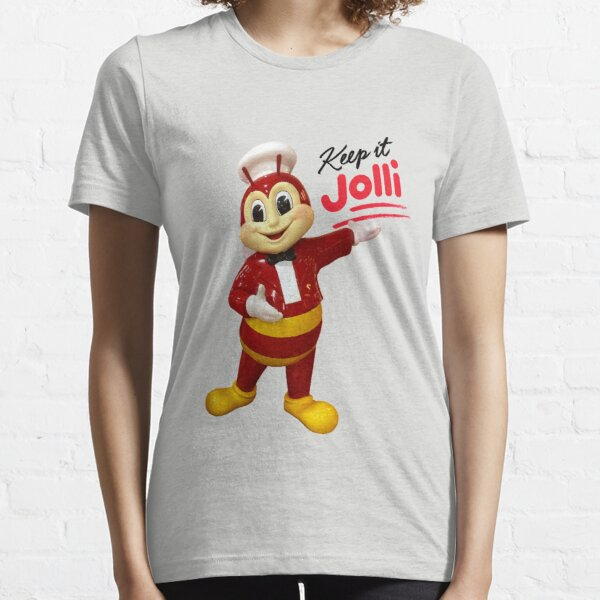 Jollibee mascot statue: Keep it Jolli Essential T-Shirt