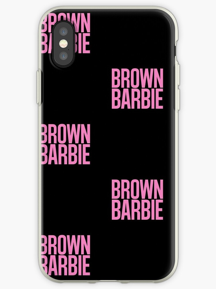 info for bd18b 16c4e 'Brown Barbie' iPhone Case by CarterCreations