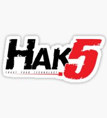 Hak5 Aufkleber Sticker