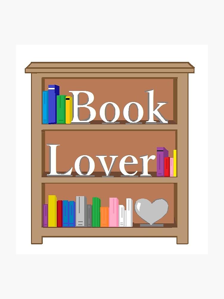 Book Lover Bookcase de lalinbri