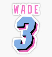 Wade Miami Vice Sticker