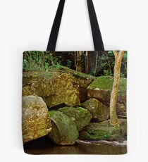 Rocky Grotto - Somersby Falls NSW Tote Bag