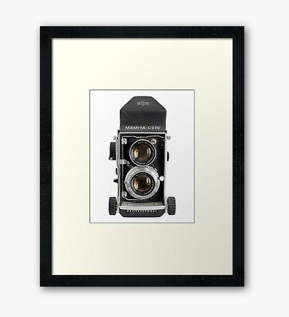 Mamiya C220  Framed Print