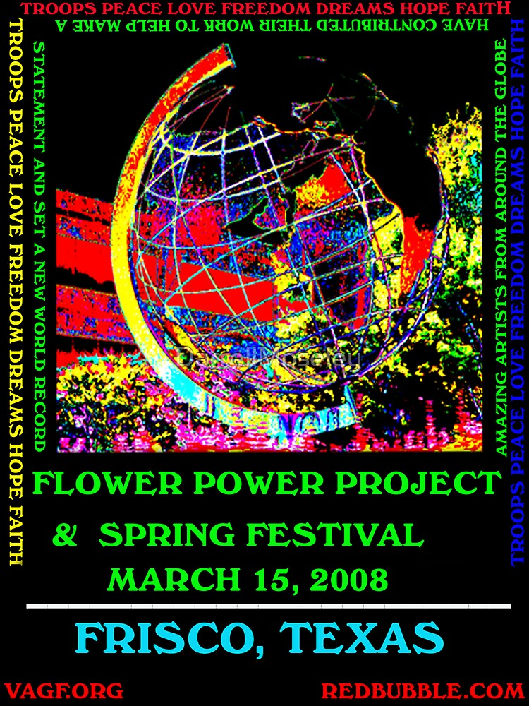 FLOWER POWER PROJECT  by DarrellMoseley