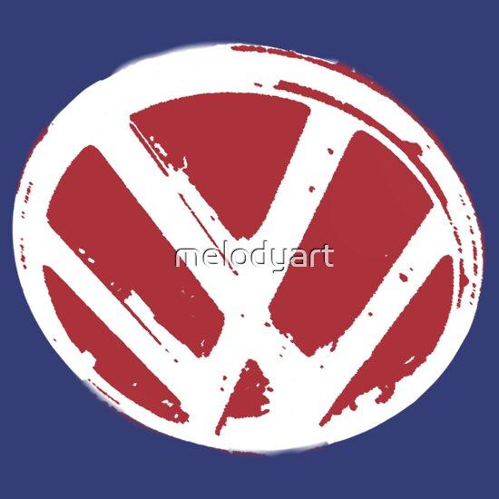 TShirtGifter presents: VW logo shirt