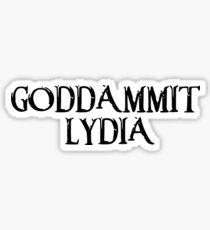 Skyrim Lydia Stickers   Redbubble