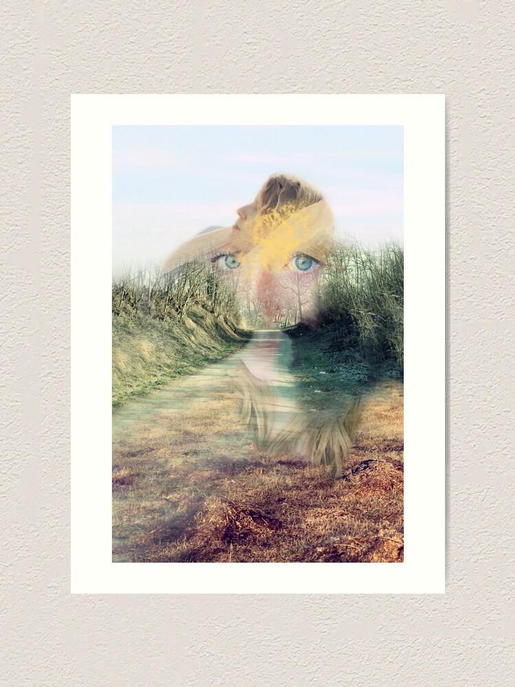 Alternate view of Beyond Art Print