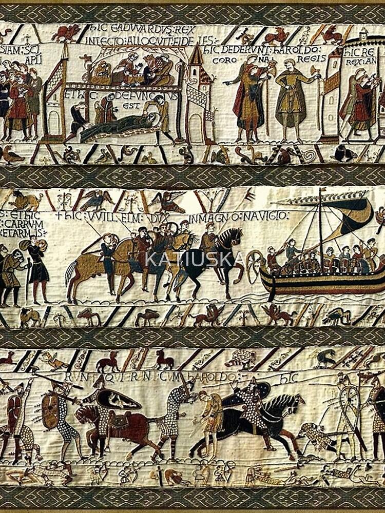 Bayeuxteppich von KATIUSKA