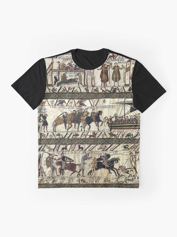 Alternative Ansicht von Bayeuxteppich Grafik T-Shirt