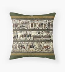 Bayeux Tapestry Throw Pillow