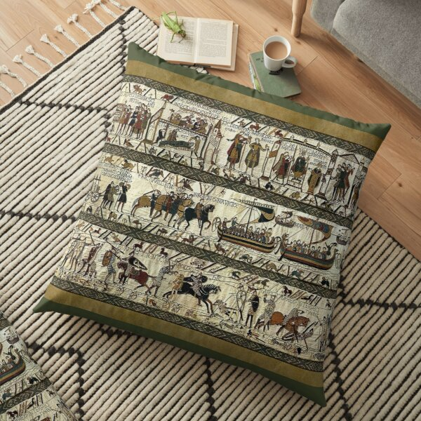 Bayeux Tapestry Floor Pillow