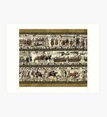 Bayeux Tapestry Art Print