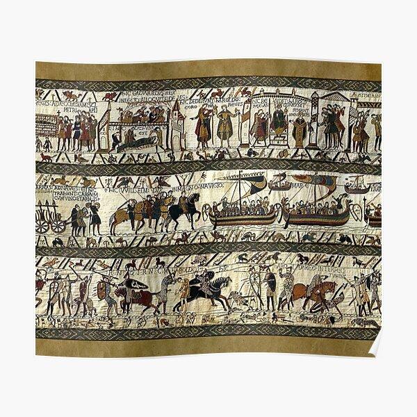 Tapisserie de Bayeux Poster