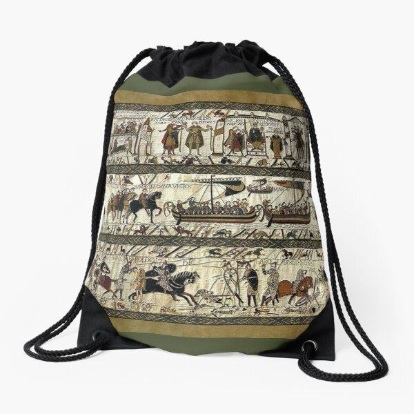 Bayeux Tapestry Drawstring Bag