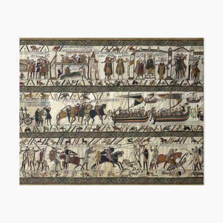 Bayeux Tapestry Art Board Print