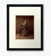 Samurai, 1890s, Japan Framed Print