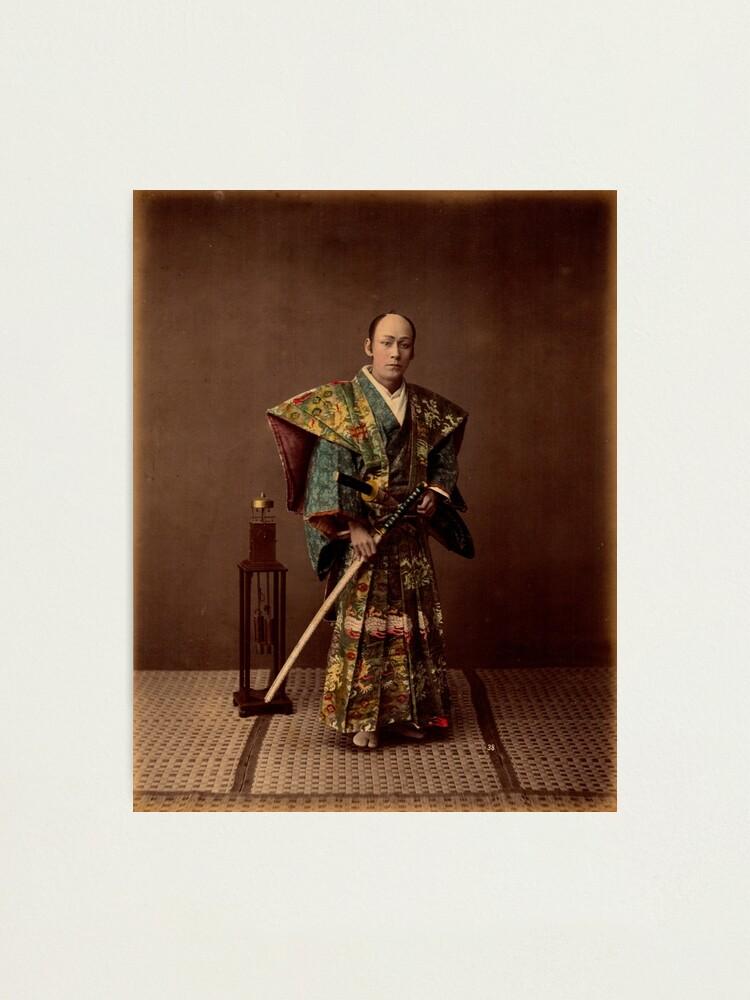 Alternate view of Samurai, 1890s, Japan Photographic Print