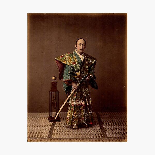 Samurai, 1890s, Japan Photographic Print