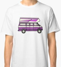 DODGE B100 HIGHTOP CAMPER PURPLE VAN Classic T-Shirt