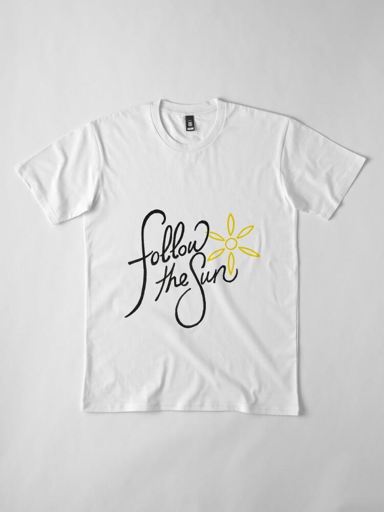 Alternative Ansicht von Folge der Sonne 2 Premium T-Shirt