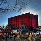 this old wagon by Heath Dreger