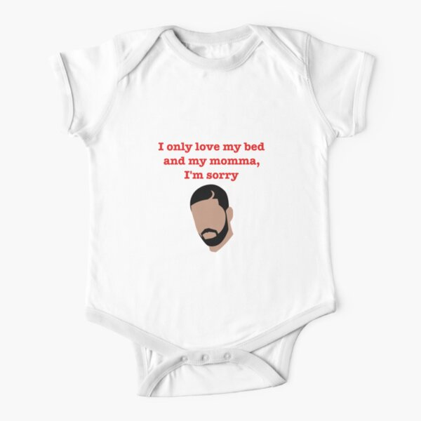 God's Plan - Drake  Short Sleeve Baby One-Piece