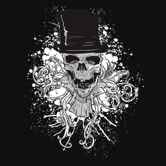 TShirtGifter presents: Skull and a Top Hat