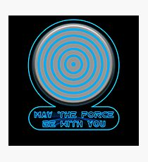 TRON May the Force Be With You Photographic Print