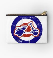 Weathered Mod Target and Scooter  Studio Pouch