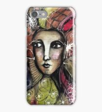 She thinks she was a bird in a past life... iPhone Case/Skin