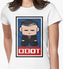 Romneybot Politico'bot Toy Robot 1.1 Womens Fitted T-Shirt