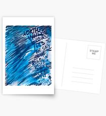 Watercolor with words Postcards