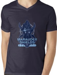 Mass Effect: Marauder Shields Mens V-Neck T-Shirt