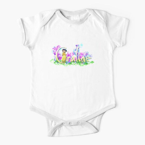 Coraline Short Sleeve Baby One-Piece
