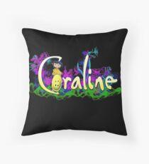Coraline Throw Pillow
