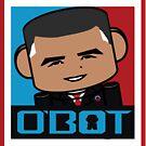 Renegade O'bamabot Toy Robot 1.2 by Carbon-Fibre Media