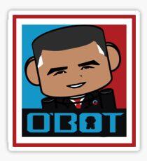 Renegade O'bamabot Toy Robot 1.2 Sticker