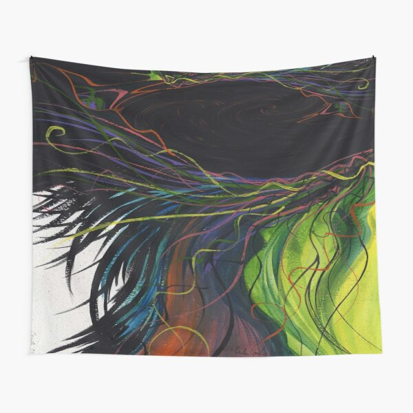 Windy by Cecile Grace Charles Tapestry