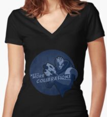 Mass Effect: Garrus Women's Fitted V-Neck T-Shirt